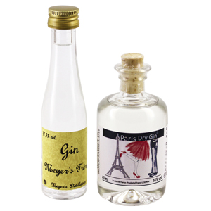 Duo de mignonnettes Gin Paris & Meyer's