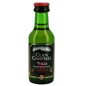 mignonnette whisky clan campbell 5 cl 40 sur tastingbox. Black Bedroom Furniture Sets. Home Design Ideas