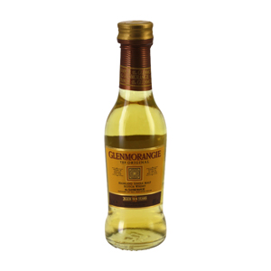 Mignonnette Highland scotch whisky GLENMORANGIE 10 Ans 5 cl 40°