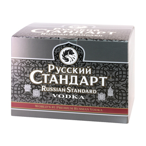 Box 12 Mignonnettes Vodka Russian Standard Original 5 cl 40°