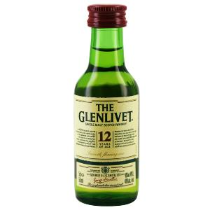 Mignonnette de Whisky The glenlivet 12 ans 5 cl 40°