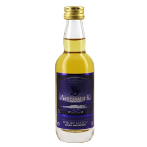 Mignonnette whisky Armorik double maturation 5 cl 46°