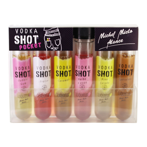 Mignonnettes Vodka Shot pocket 18 cl 18°