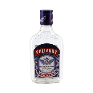 Flasque vodka POLIAKOV 20 cl 37,5°