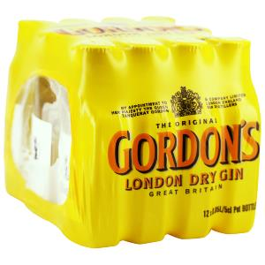 Box 12 Mignonnettes de Gin Gordon's 5 cl 40°