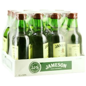 Box 12 mignonnettes de Whisky Jameson 5 cl 40°