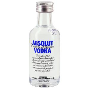 Mignonnette de Vodka Absolut 5 cl 40°